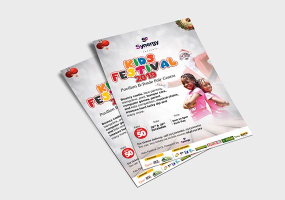 Printing and Design of flyers
